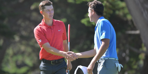 Maverick McNealy has 11 wins during his Stanford career <br>(Stanford Athletics Photo)