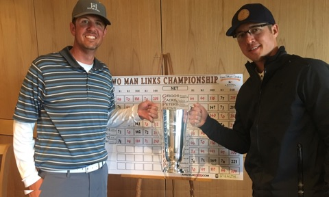 Rector and Sherman win AGC Two Man Links at Bandon Dunes