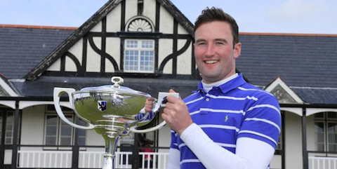 West of Ireland champion Barry Anderson <br>(Golf Union of Ireland Photo)