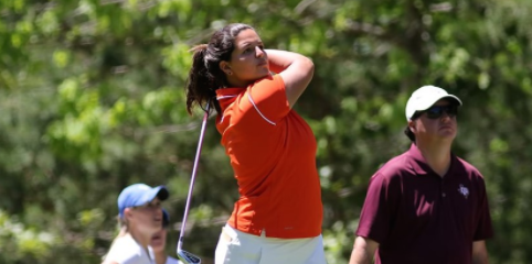 Maria Torres is the low Gator in a tie for third <br>(Florida Athletics Photo)