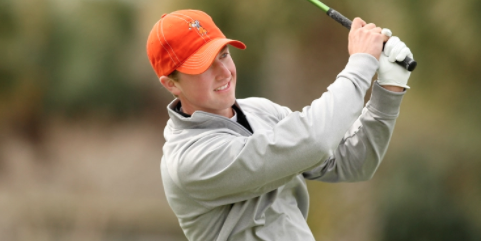 Oklahoma State's Zach Bauchou is tied for sixth <br>(Golfweek Photo)