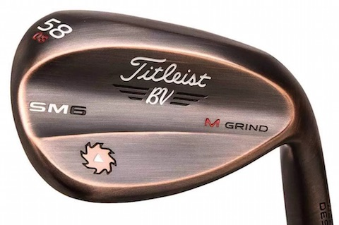 A New Brushed-Copper finish for Titleist Vokey Design SM6
