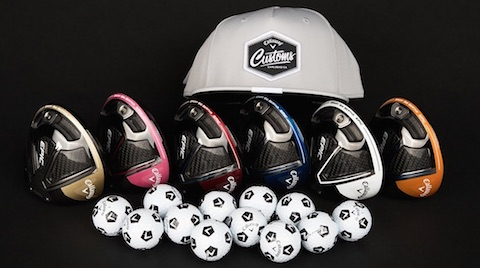 Available today: Callaway Customs: Drivers, Wedges, Balls and more