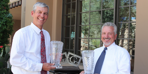 Senior Division winners Patrick Murphey and Craig Wilson <br>(Photo Courtesy of Rick Price)