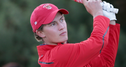 Maverick McNealy at December's Walker Cup practice session <br>(Golfweek.com Photo)
