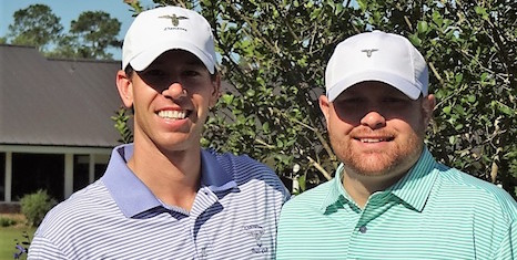 Champions Cup Invitational winners Bryant Lach and Matt Cordell <br>(Photo via George Adams)