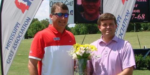Josh Lampley has won the 2015 and 2017 Mississippi Mid-Amateur's <br>(Mississippi Golf Association Photo)