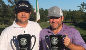 The winning team of Stan Gann Jr. and Shawn Hodge <br>(Peach Blossom Invitational Photo)