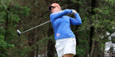 Florida's Marta Perez is tied for fourth after the first round <br>(Florida Athletics Photo)