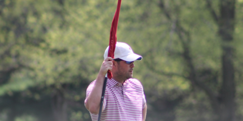 J.D. Anderson, Dennis Bull and Niel Doak are tied for the lead <br>(Iowa Golf Association Photo)
