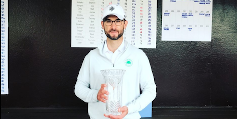 Horton Smith winner Jimmy Chestnut <br>(Detroit Golf Club Photo)