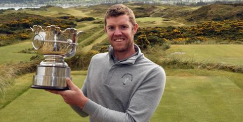 Irish Amateur Open winner Peter O'Keeffe <br>(Photo Courtesy of Cashman Photography)