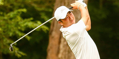 Doug Ghim and Texas Lead Going into the Final Round<br>(TexasSports.com photo)