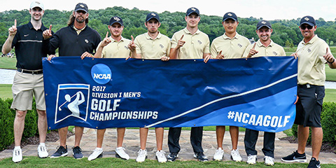 The UCF Knights are heading to the NCAA Championship for the first time since 2013<br>(UCF Photo)