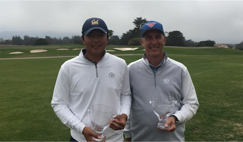 Champion KK Limbhasut (left) and Senior winner Pete Wlodkowski