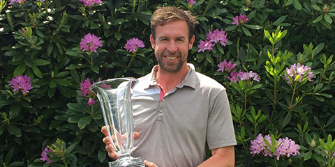 Matt Wilcox went wire-to-wire at the British Mid-Am