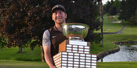 Drew McCullough, the 2017 Washington Open champion