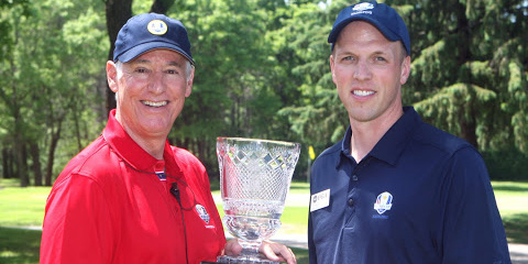 Tournament Directors Doug Hoffman (Minnesota Golf<br>Association) and Darren DeYoung (Minnesota PGA)