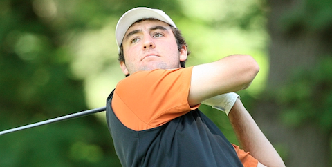 Individual leader Scottie Scheffler of Texas <br>(Golfweek Photo)
