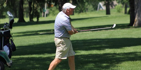 It's hard to be any hotter than Gene Elliott is right now<br>(Iowa Golf Association photo)