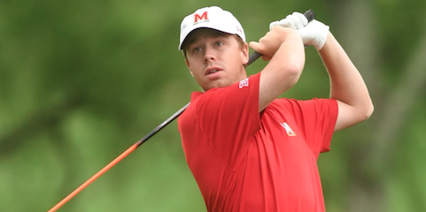Maryland's David Kocher is looking to repeat this week <br>(Maryland Athletics Photo)