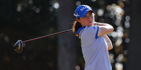 Leona Maguire's stroke average was the lowest in 15 years<br>(Golfweek photo)
