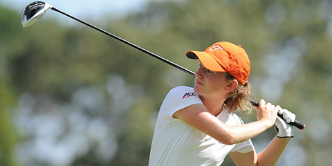 Elizabeth Bose won her first major amateur championship<br>(Virginia Tech photo)