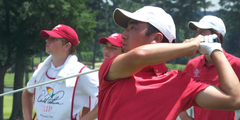 Team USA's Doug Ghim <br>(Arnold Palmer Cup Photo)