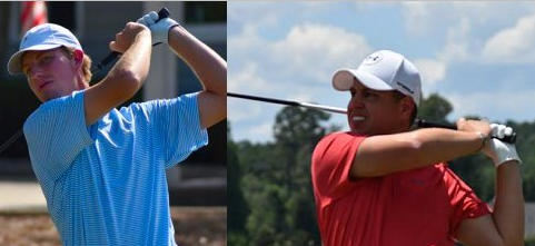 Co-Leaders Taylor Eyster (L) and Wes Carter (R) <br>(Alabama Golf Association Photo)