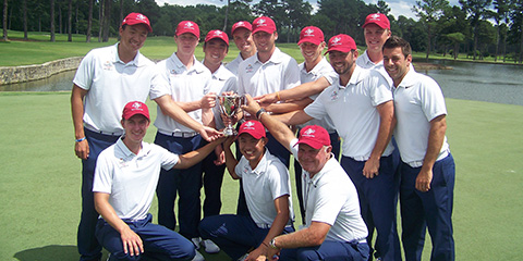 The victorious Team USA at Atlanta Athletic Club<br>(Palmer Cup photo)