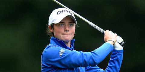 World #1 Leona Maguire is two steps closer to winning the<br>Ladies British Open Amateur for the first time (R&A photo)
