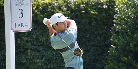 Brady Purdom followed his opening 65 with a one-under 70<br>(TGA photo)