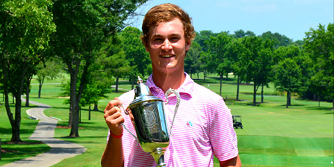 Chase Roswall, the 2017 Tennessee Match Play champion<br>(Golf House Tennessee photo)