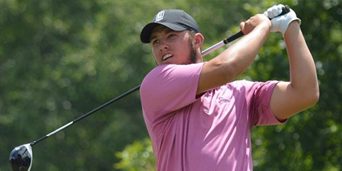 Brett McLamb tops a crowded leaderboard at River Run Country Club<br>(CGA photo)