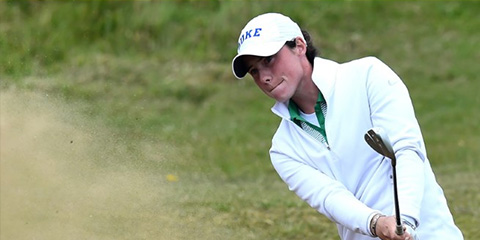 Leona Maguire is a heavy favorite heading into the semis<br>(R&A photo)