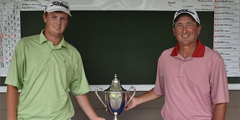 Julian Keur (L) and Todd White (R): the final two<br>(CGA photo)