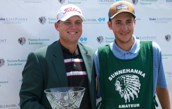 Braden Thornberry: NCAA Champion, T-4 on the PGA Tour<br>and now a Sunnehanna champion (AmateurGolf.com photo)