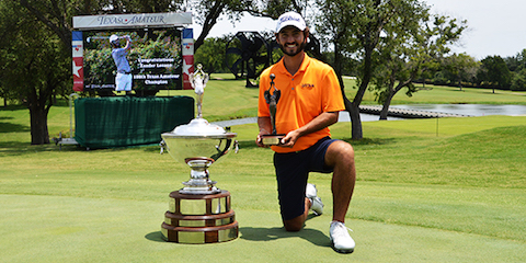 Winner Zander Lozano <br>(TXGA Photo)