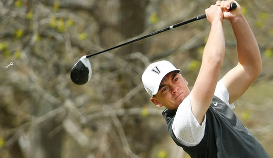Theo Humphrey shot 6-under 63 Thursday (Vanderbilt U. photo)