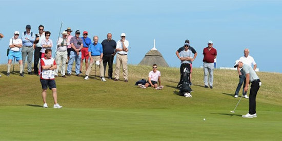 The champion at Royal St. George's will earn invitatons to<br>the British Open, U.S. Open, and Masters (R&A photo)