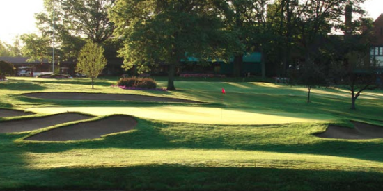 No. 3 at Canterbury Golf Club <br>(Canterbury Golf Club Photo)