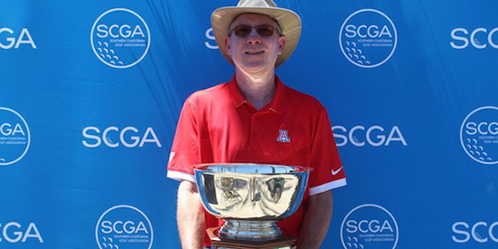 Craig Davis, the 2017 Southern California Senior champion<br>(SCGA photo)