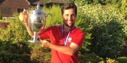 European Amateur winner Alfie Plant <br>(Twitter Photo)