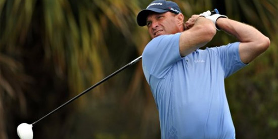 Robert Funk finished the U.S. Senior Open 8-over