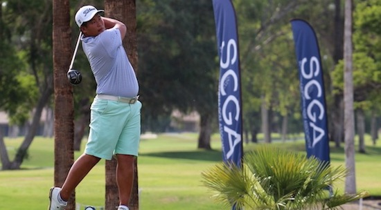 Sam Choi is in position to validate his move to the U.S. (SCGA photo)