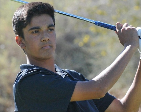 Devon Bling is in command at the halfway mark of the IMG Junior World