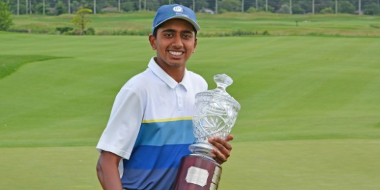 Sudarshan Yellamaraju <br>(Golf Ontario Photo)