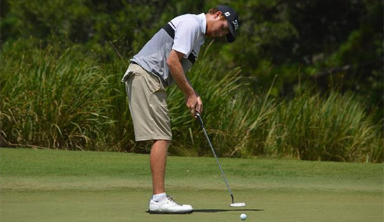 Julian (R.J.) Keur has set Carolinas Amateur records<br>for the low 36 and 54 hole score (CGA photo)