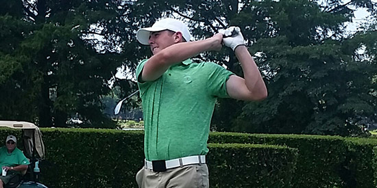 Myles Creighton is looking for his third tournament win of the summer<br>(Eastern Amateur photo)