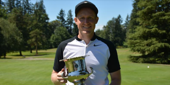 Oregon Men's Mid-Amateur winner Jack Dukeminier <br>(OGA Photo)